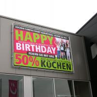 Werbeanlage Küchen